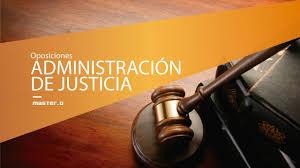 Oposiciones justicia ejemplo