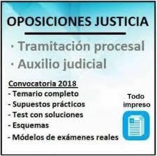 oposiciones auxilio judicial admitidos