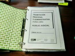 oposiciones auxilio judicial aragon