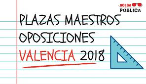 oposiciones valencia 2017